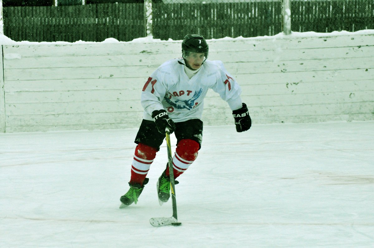 В Кудымкаре сыграли хоккейный матч, посвященный памяти Сергея Долдина