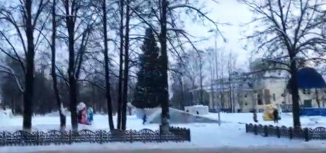 Гуляем по зимнему Кудымкару. Взгляните на город нашими глазами
