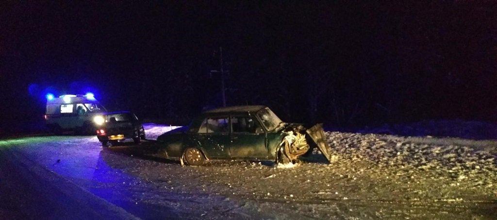 В Кудымкарском районе пьяный водитель без прав совершил массовое ДТП