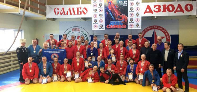 Состоялся чемпионат Пермского края по самбо среди ветеранов