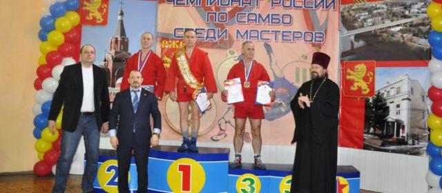 Кудымкарский самбист стал вторым на Чемпионате России