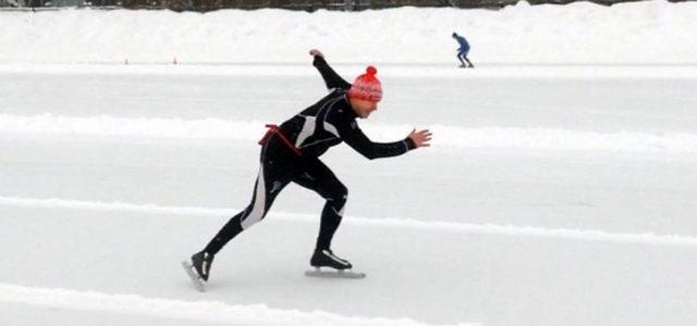 Кудымкарский конькобежец завоевал бронзу на краевых соревнованиях