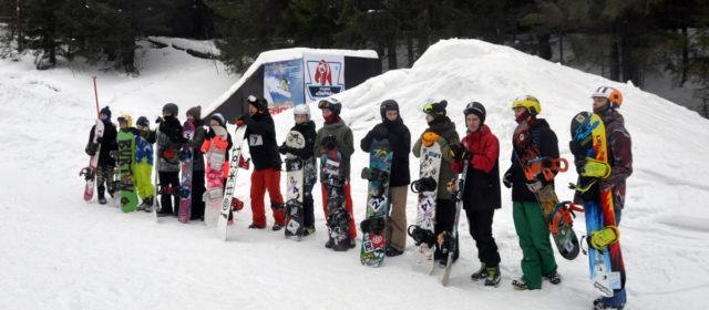 В Кудымкаре в шестой раз прошло соревнование сноубордистов