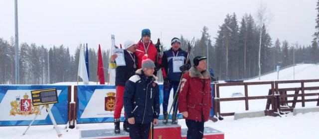 Артист театра стал призером Чемпионата России по лыжному двоеборью