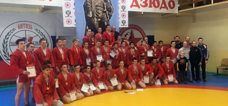 Кудымкарские самбисты завоевали четыре золотых медали