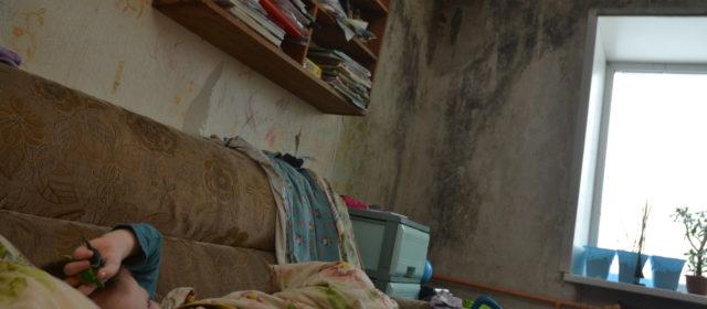 В Кудымкаре в общежитии на Студенческой течет с потолка