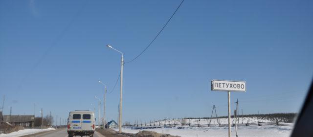 В Кочевском районе патрульная машина столкнулась с «семеркой»