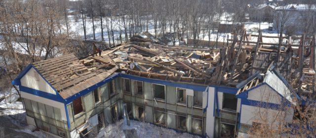 Здание районной поликлиники в Кудымкаре разбирают