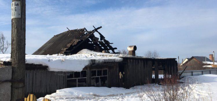 Вечером в Кудымкаре сгорел дом. Есть погибшая и трое пострадавших