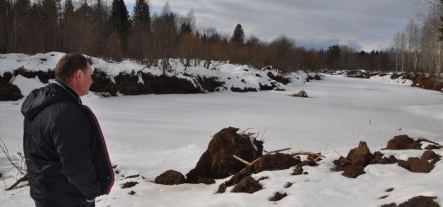 «Уничтожается место обитания зверей и птиц!» Житель Юрлы обеспокоен ситуацией на реке Коса