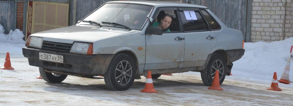 Кудымкарская автогонщица заняла третье место в Березниках