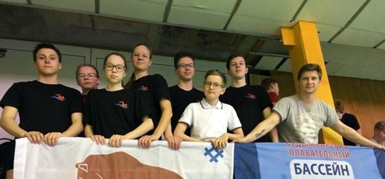 Кудымкарские пловцы приняли участие в краевых соревнованиях