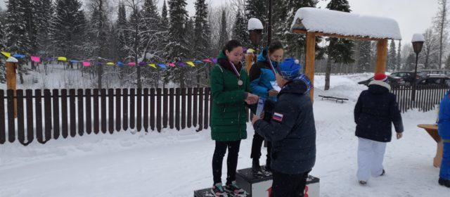 Команда Лесного техникума выиграла краевые соревнования по лыжным гонкам