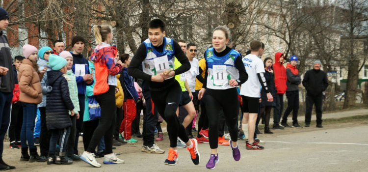 В Кудымкаре прошла 80-я легкоатлетическая эстафета