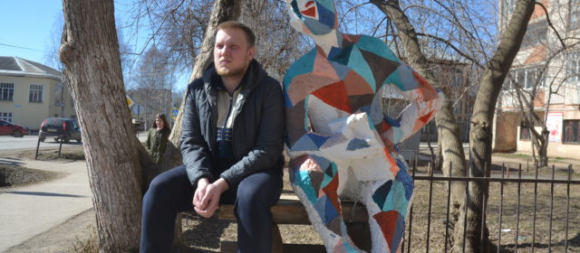 В Кудымкаре установили скульптуру Сатира