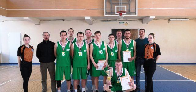 Кудымкарский Лесотехникум победил в краевом первенстве по баскетболу