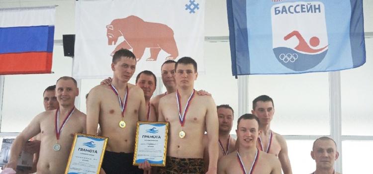 В бассейне прошли соревнования сотрудников СИЗО
