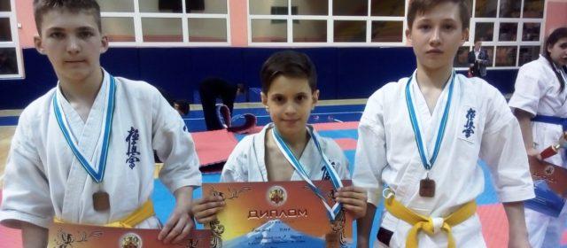 Кудымкарские каратисты завоевали три бронзовые медали