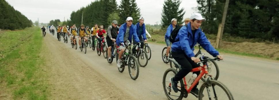 В Кудымкаре состоялся велопробег