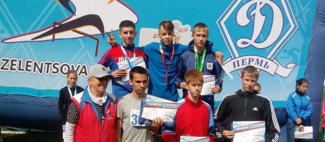 Легкоатлет из Белоево завоевал бронзу на Всероссийских соревнованиях