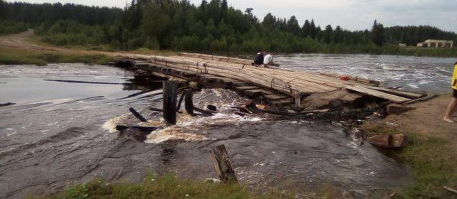 В Кочевском районе вода пошла на спад