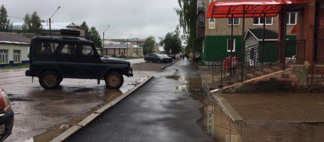 На ремонт улицы Плеханова в Кудымкаре, который вызвал много шума, выделили 1,6 млн рублей