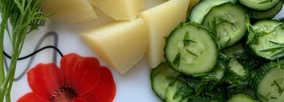 Пенсионерка в Кудымкаре сняла первый урожай картофеля. В июне!