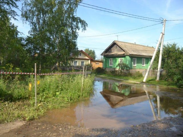 Нахаловка, паводок в июле