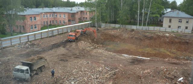 В Кудымкаре начали строить детскую поликлинику