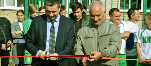 В кудымкарском Лесотехникуме открыли новую спортплощадку