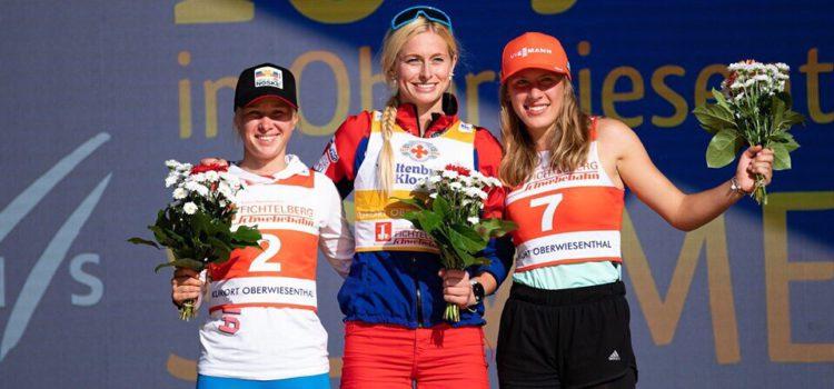 Стефания Надымова стала серебряным и бронзовым призером немецкого этапа летнего гран-при