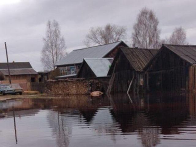 Паводок Усть-Чёрная 2020
