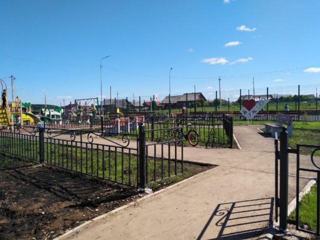 детская площадка на Пушкина 2
