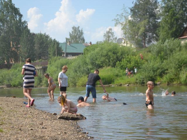 Пляж Кудымкар