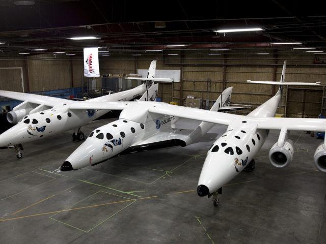 SpaceShipTwo and WhiteKnight2